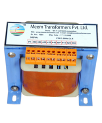Transformer Exporter Ahmedabad, Single Phase Transformer Manufacturer